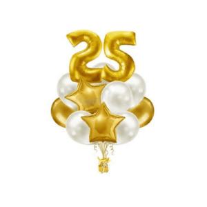 Композиция из воздушных шаров «На день рождения» №002