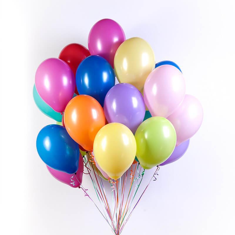 Гелиевые шарики - Пастель-Ассорти