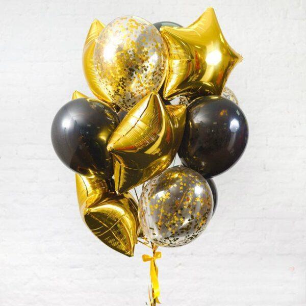 Композиция из воздушных шаров «Стильная фотосессия»