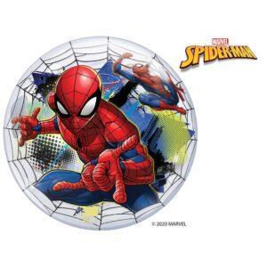 Большой шар бабл  с изображением Человека паука
