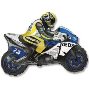 Воздушный шар в форме мотоциклиста