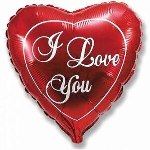 """Шарк форма сердца """"I Love You"""""""