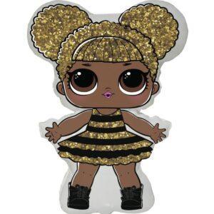 Шарик в форме куклы ЛОЛ Квин Би
