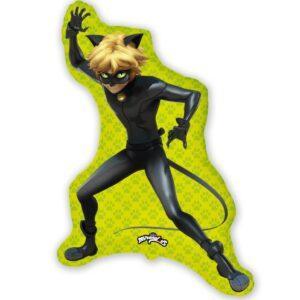 Супер кот Эдриан - шар фольгированный