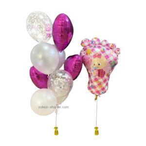 Набор шаров на день рождения девочки